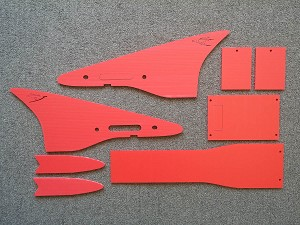 Coroplast for Ritewing Drak