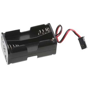 4 Cell AA Battery Holder w/Servo Connector
