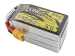 Tattu R-Line Version 3.0 1550mAh 22.2V 120C 6S1P Lipo Battery, XT60