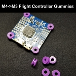Flight Controller Gummy Grommets (M4 TO M3)