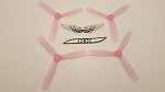 Team RaceKraft 5045x3 BN Race Prop 2L2R Clear Pink