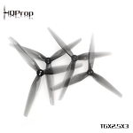 HQProp T6X2.5X3 Poly Carbonate Propeller (Light Grey)