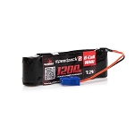 Dynamite Speedpack2 7.2V 1200mAh 6C NiMH, Long, MINI-S, EC3