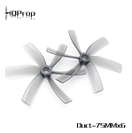 HQProp Duct-75MMX6 Grey Poly Carbonate Cinewhoop Propellers