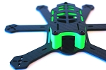 AirBladeOne 3K Carbon Fibre Micro Hex Frame 170mm