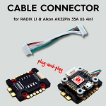 Cable for RADIXLI (20x20) & Aikon AK32Pin 35A 6S 4in1