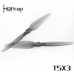 HQProp T5X3 Grey Poly Carbonate Propellers