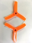 DYS BN 3030 X3 3X3X3 Inch Blunt Nose Propeller 1 Pairs ( ORANGE )