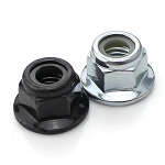 Flanged Nylock Prop Nuts, 5mm (pair of 2)