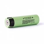 Panasonic NCR18650B 3350mAh, 4.87A Button Top Li-Ion Cell