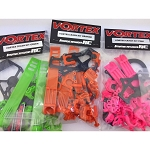Vortex 285 Plastic Parts Crash Kit (Red)