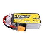 Tattu R-Line 1050mAh 95C 4S1P Lipo Battery, XT60
