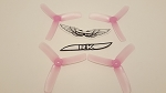 Team RaceKraft 4040x3 Race Prop 2CW 2CCW Clear Pink